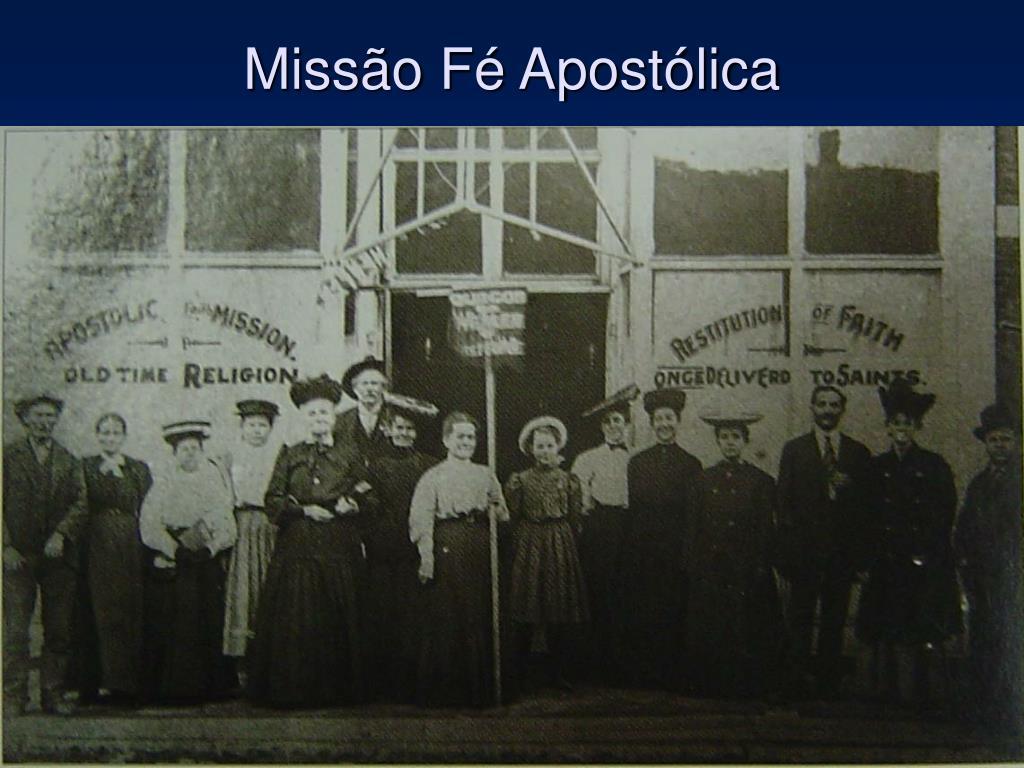 Missão Fé Apostólica