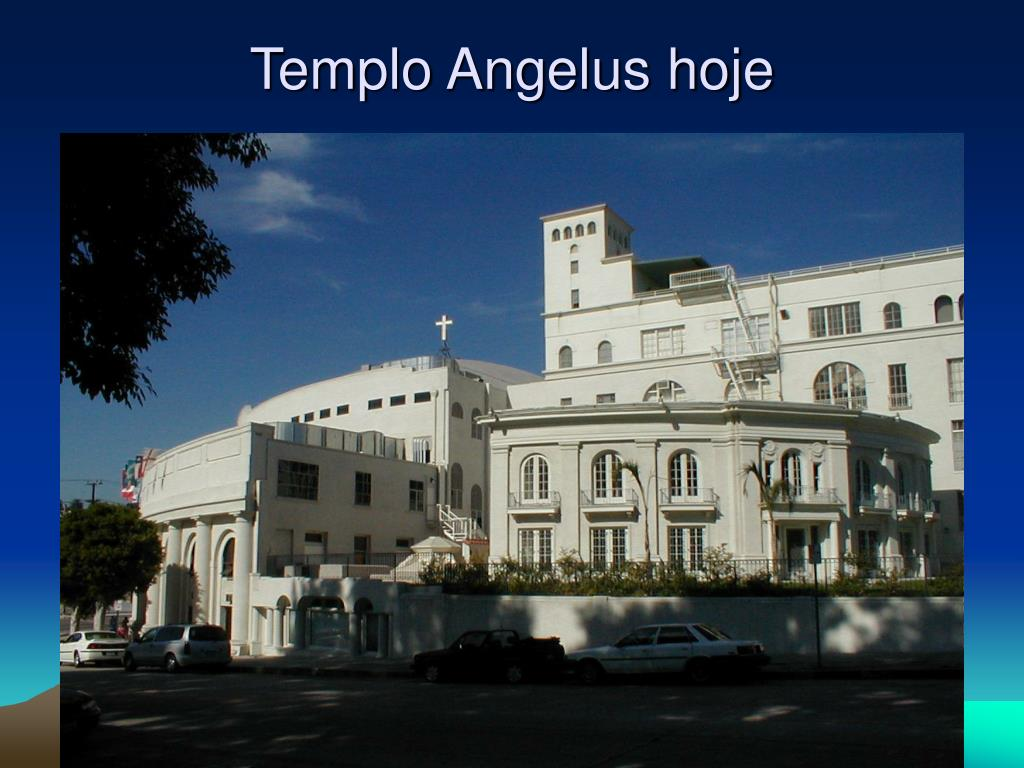 Templo Angelus hoje