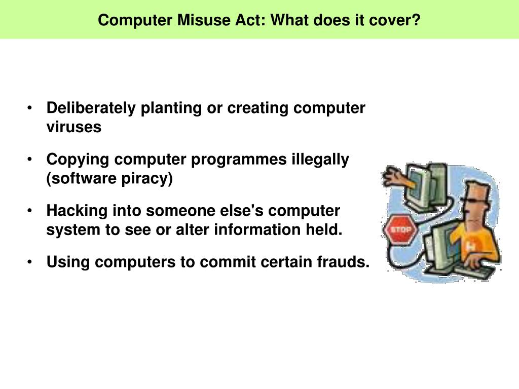 Computer Misuse Act: What does it cover?
