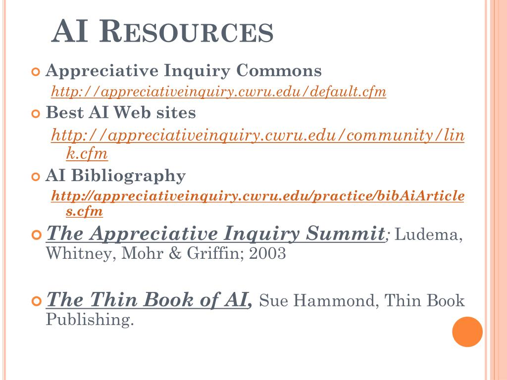 AI Resources