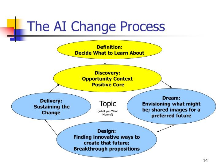 The AI Change Process