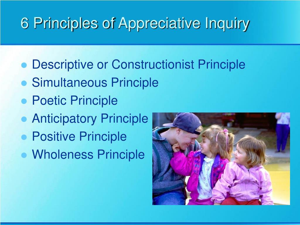 6 Principles of