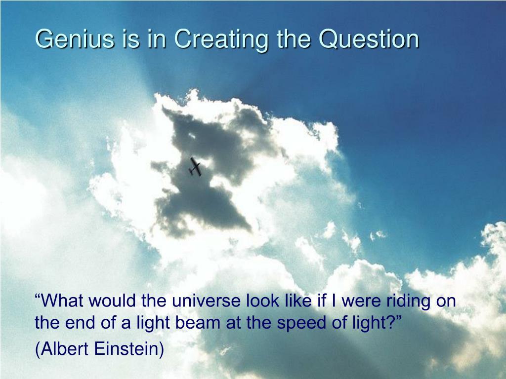 Genius is