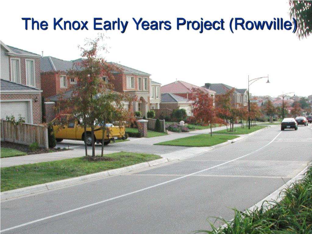 The Knox Early Years Project (Rowville)