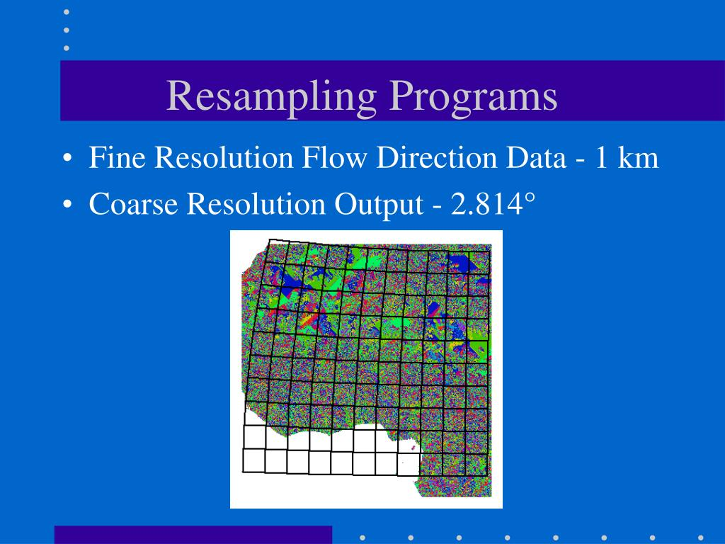Resampling Programs