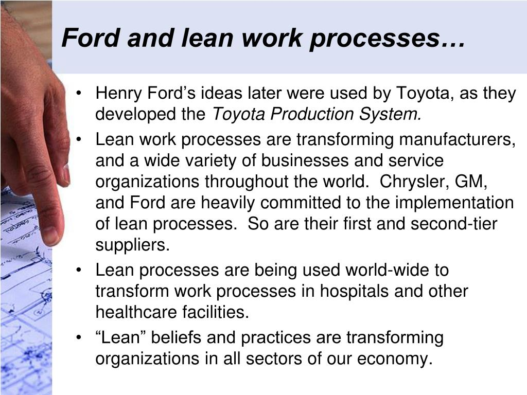 Ford and lean work processes…
