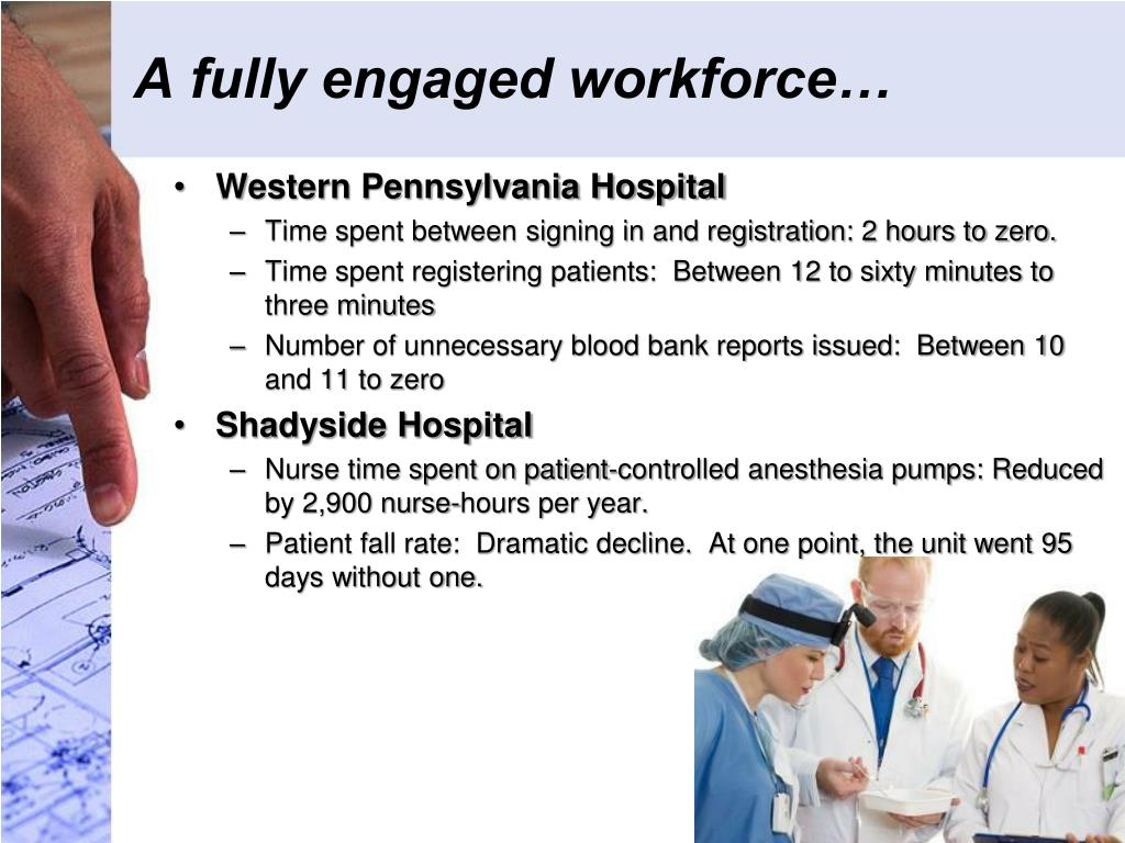 A fully engaged workforce…