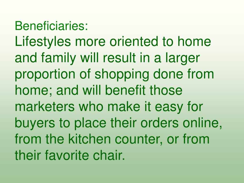 Beneficiaries: