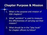 chapter purpose mission39