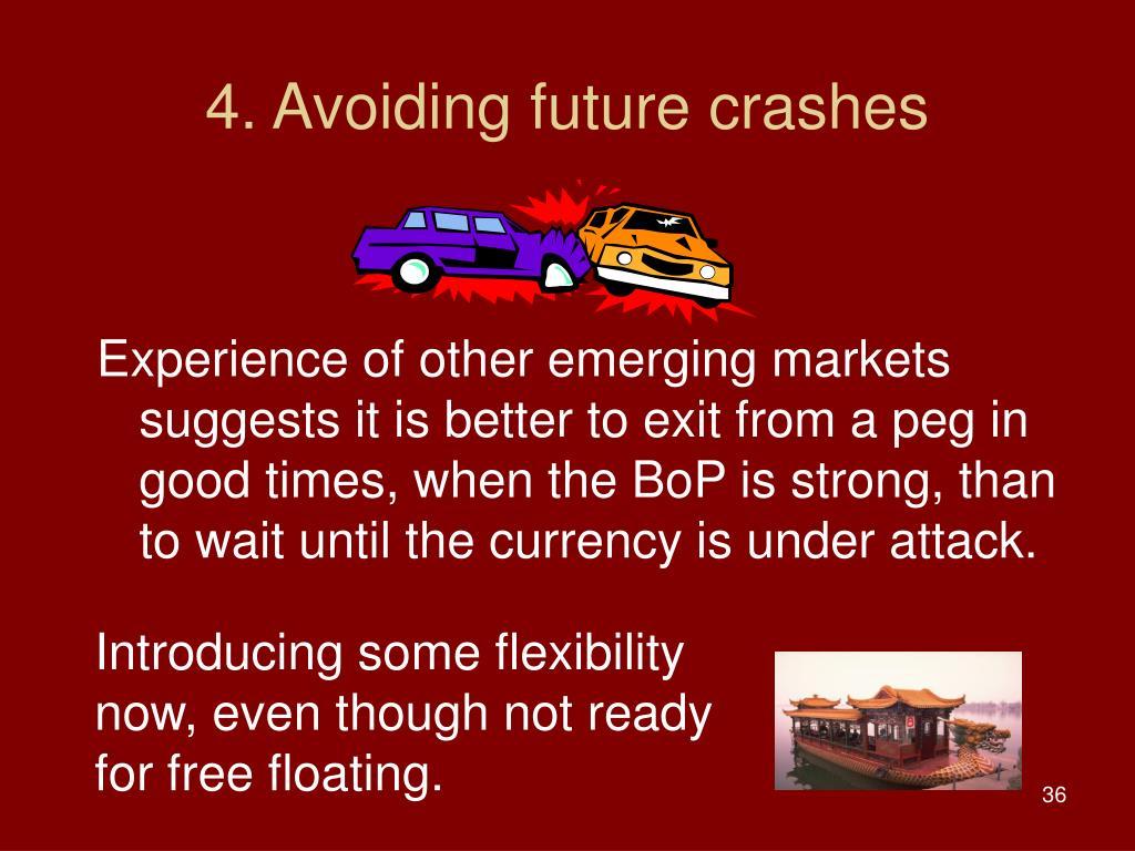 4. Avoiding future crashes