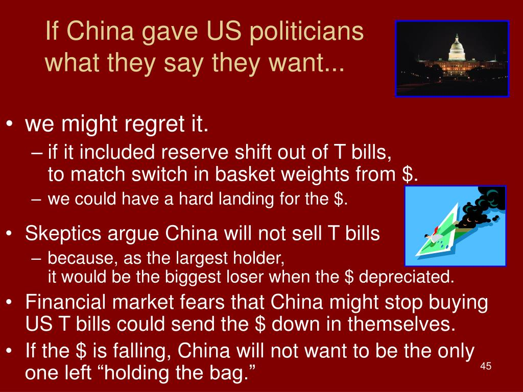 If China gave US politicians