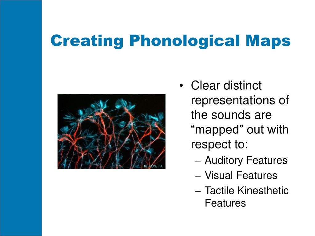 Creating Phonological Maps