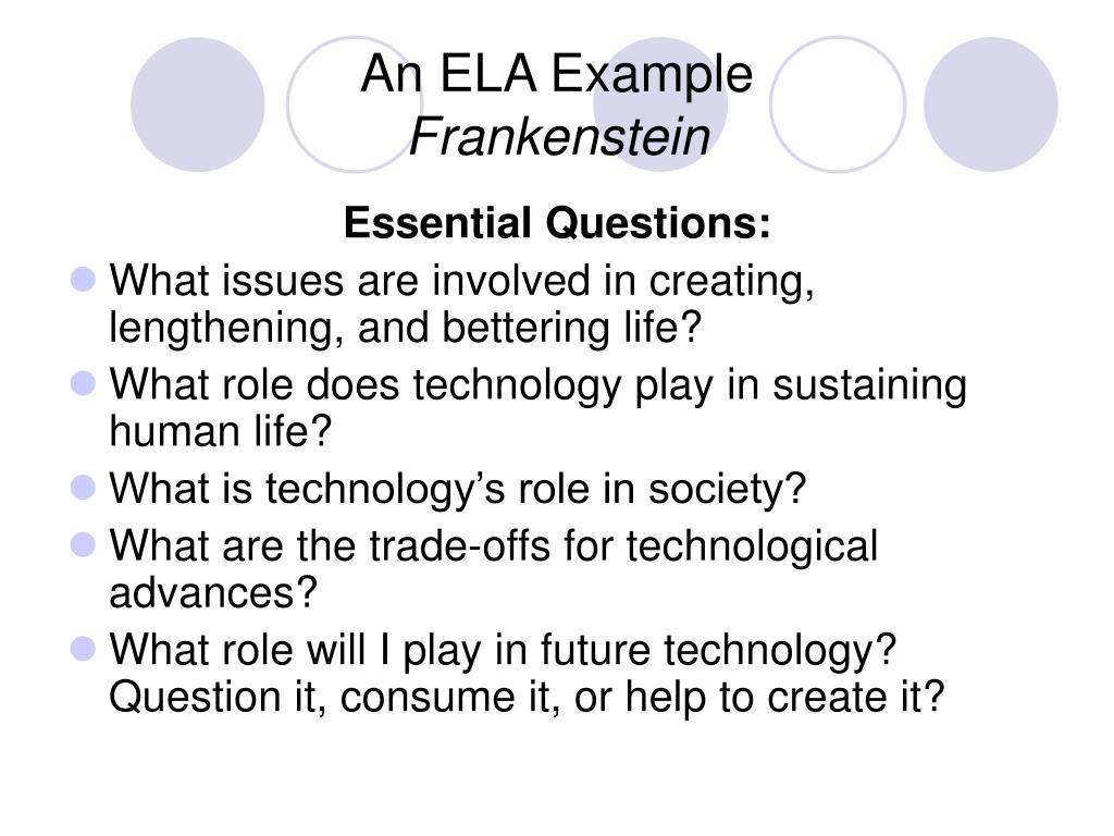 An ELA Example