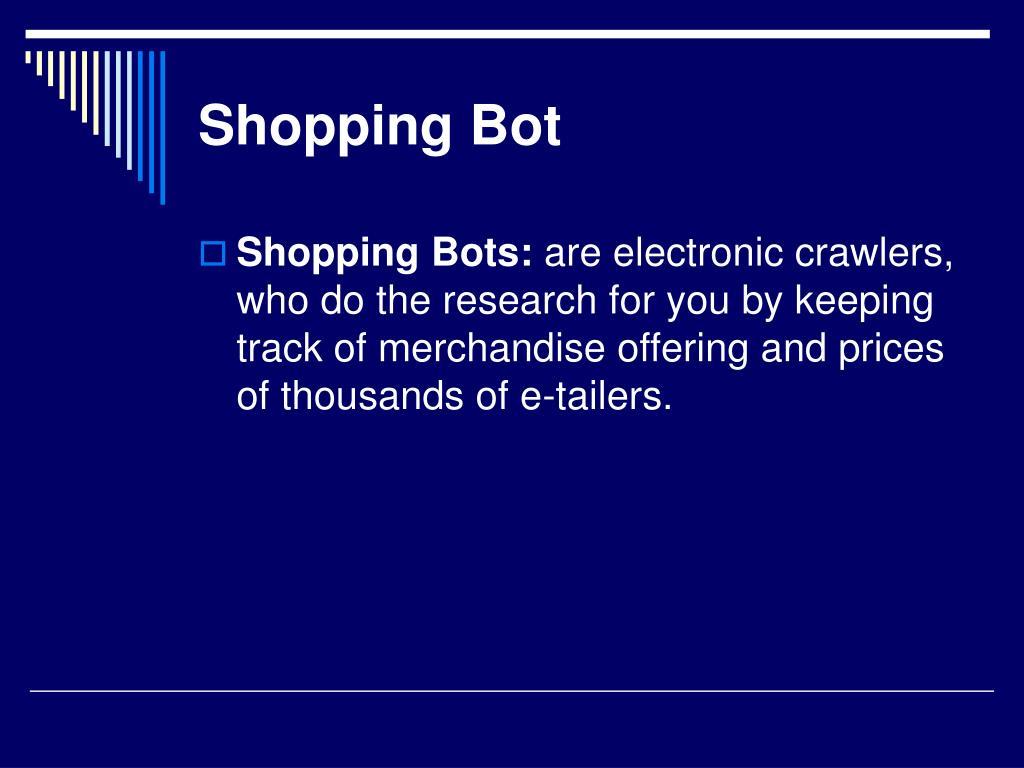 Shopping Bot