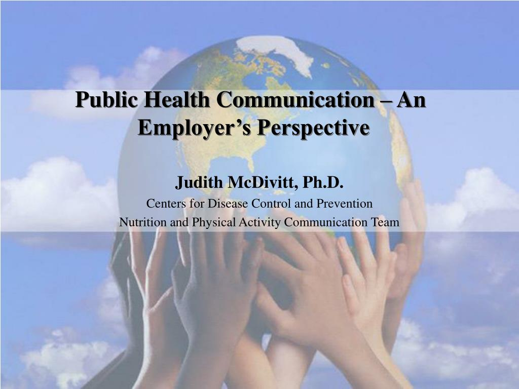 Public Health Communication – An