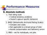 performance measures31