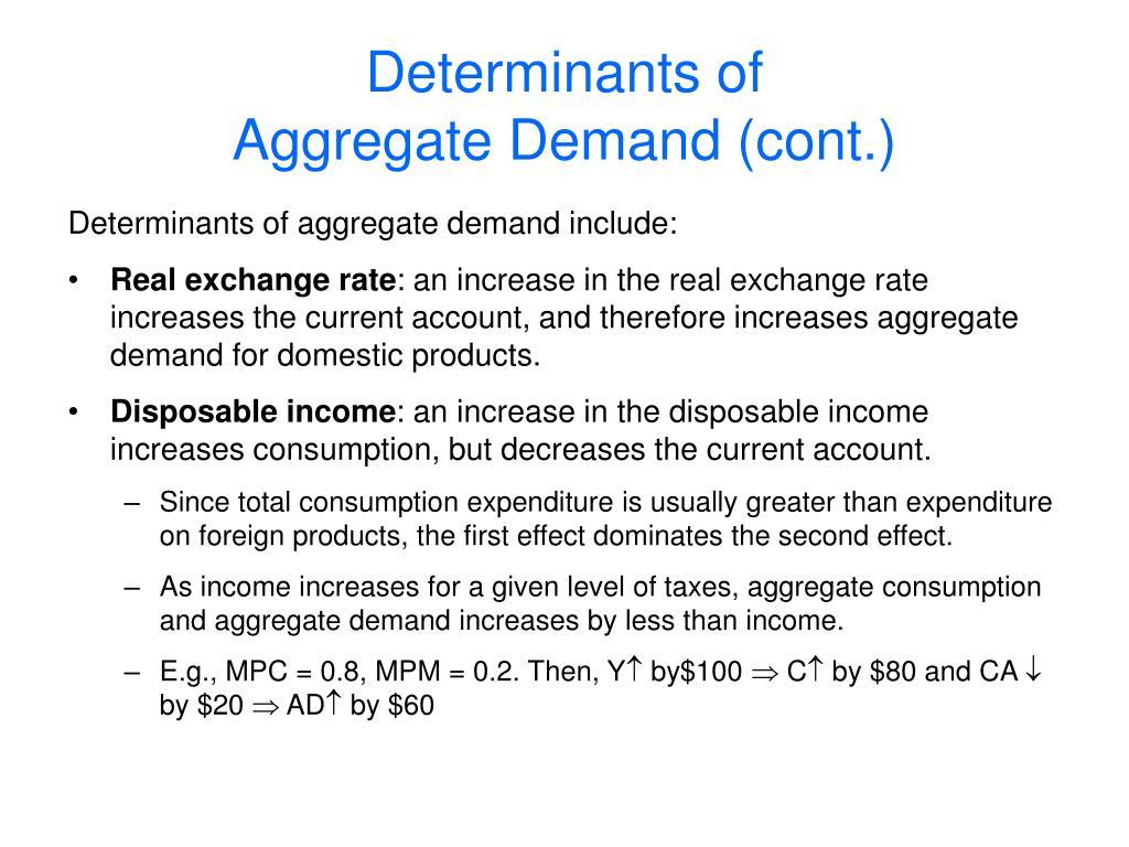 Determinants of