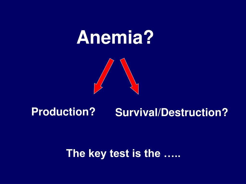 Anemia?