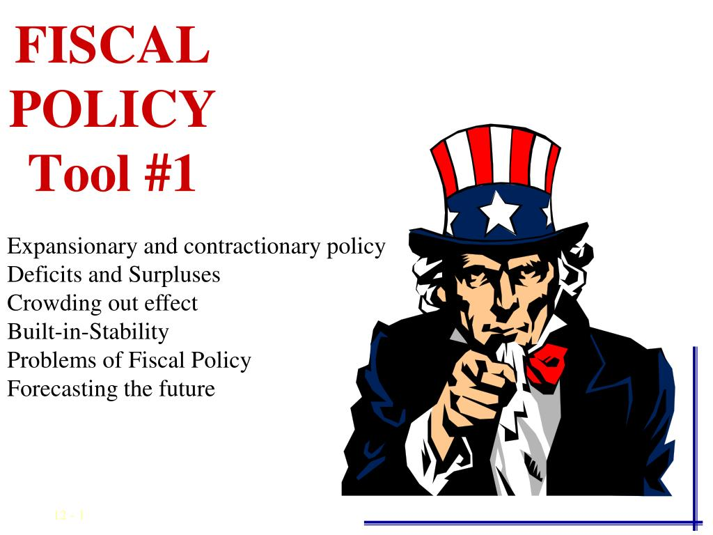 fiscal policy tool 1