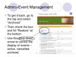 admin event management49