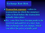 exchange rate risk37