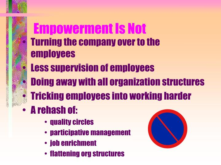 Empowerment Is Not