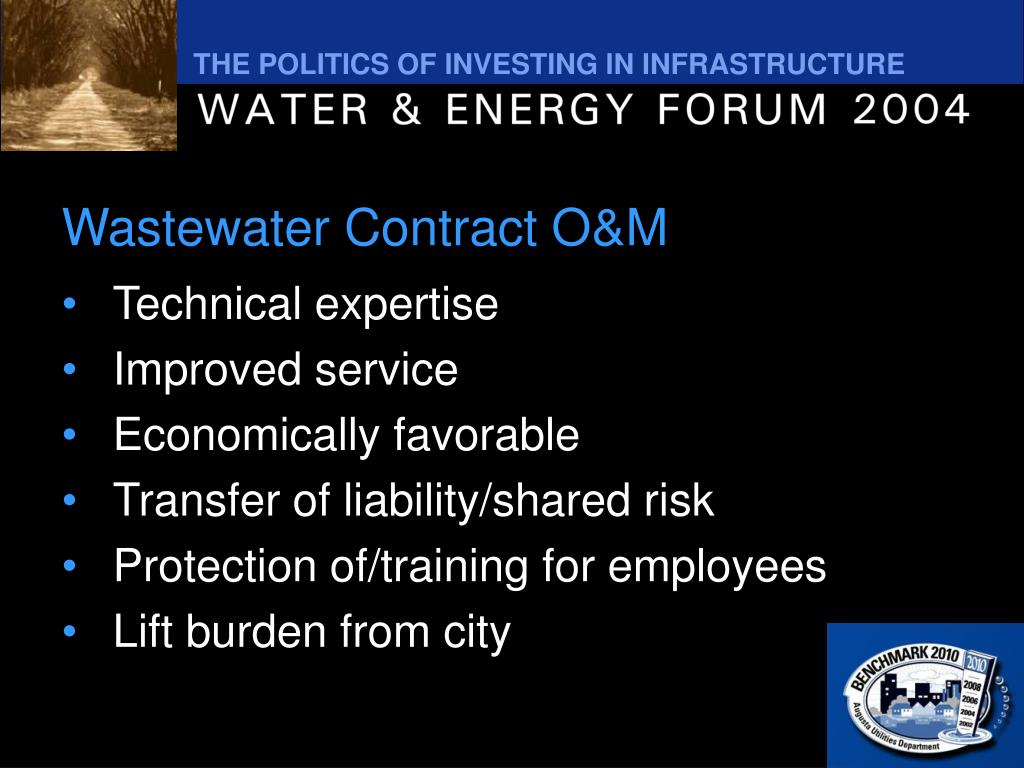 Wastewater Contract O&M
