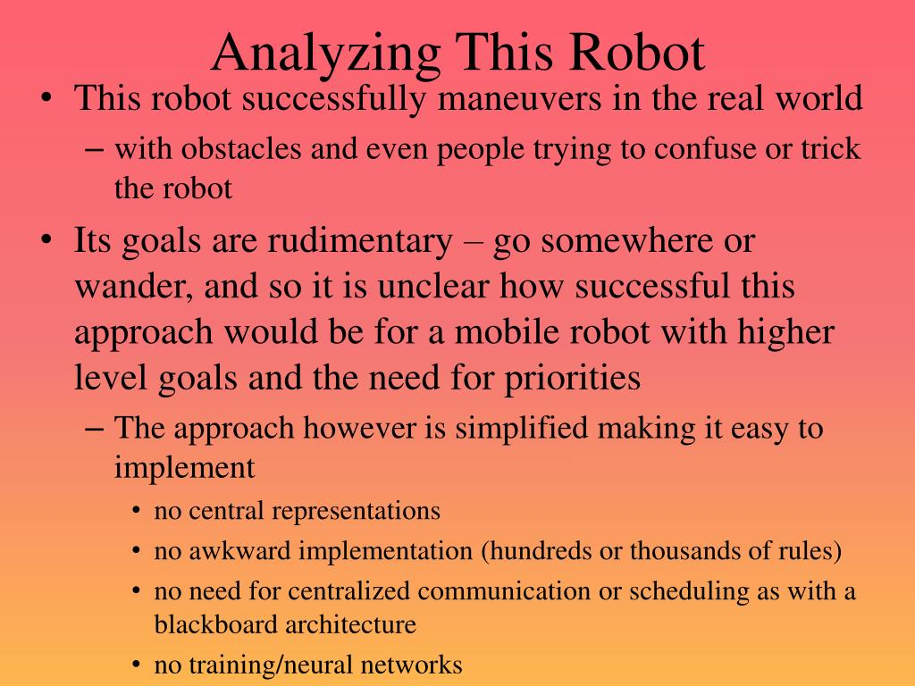Analyzing This Robot
