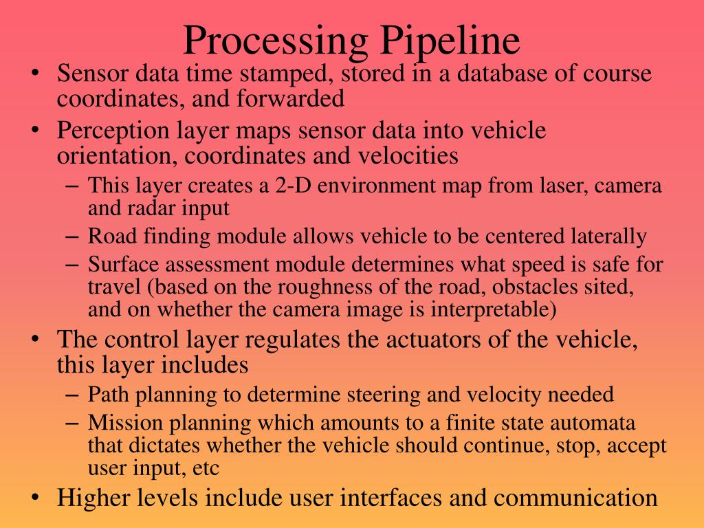 Processing Pipeline