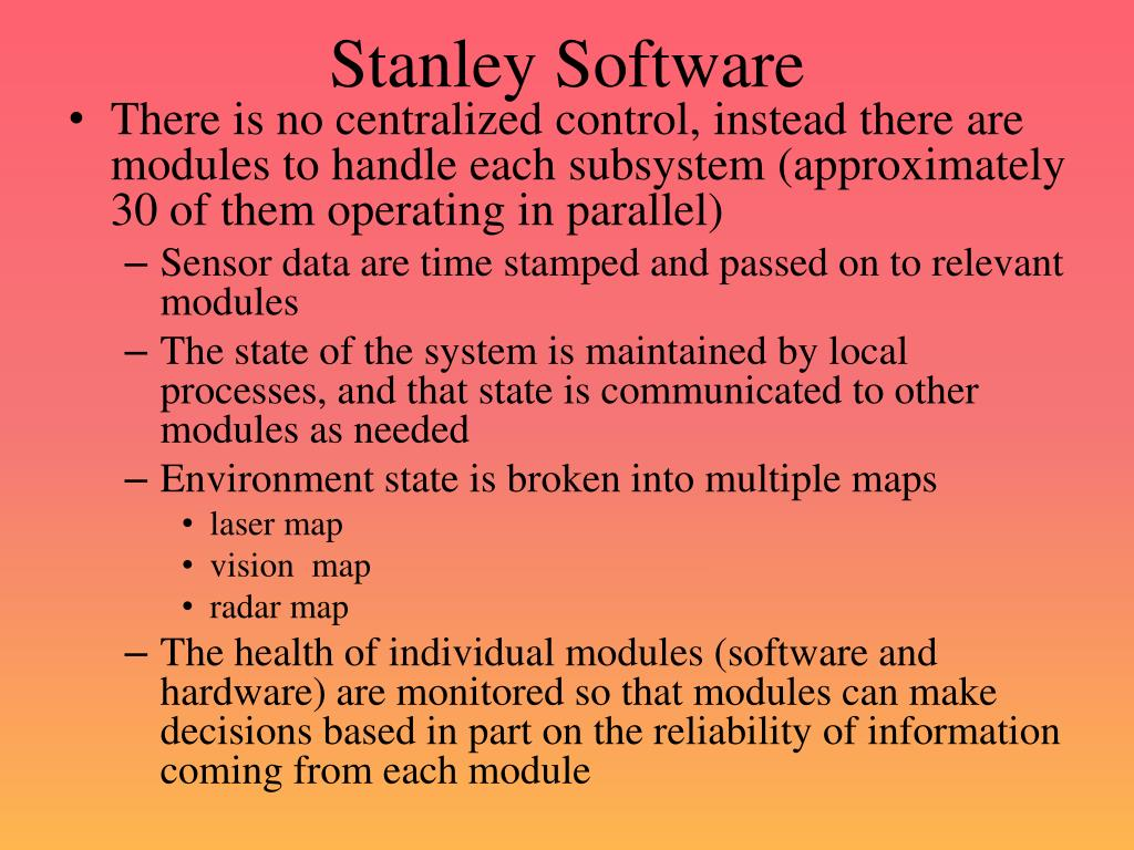 Stanley Software