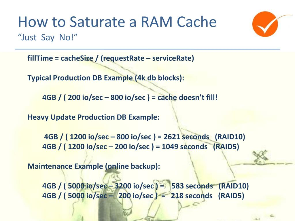 How to Saturate a RAM Cache