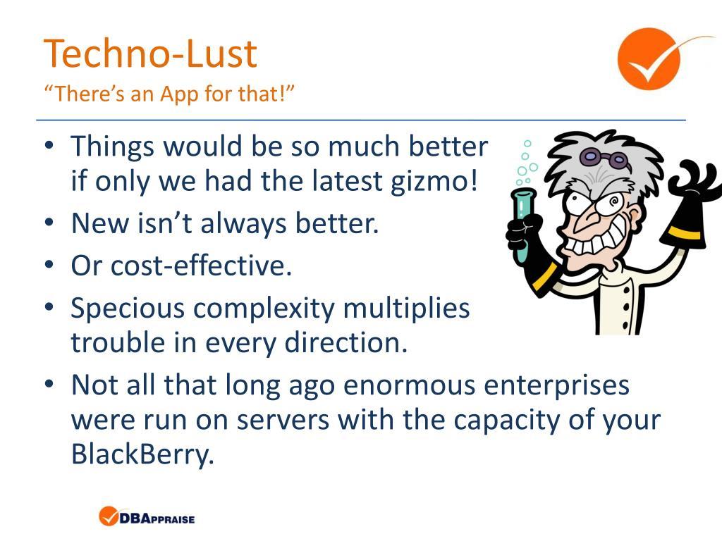 Techno-Lust