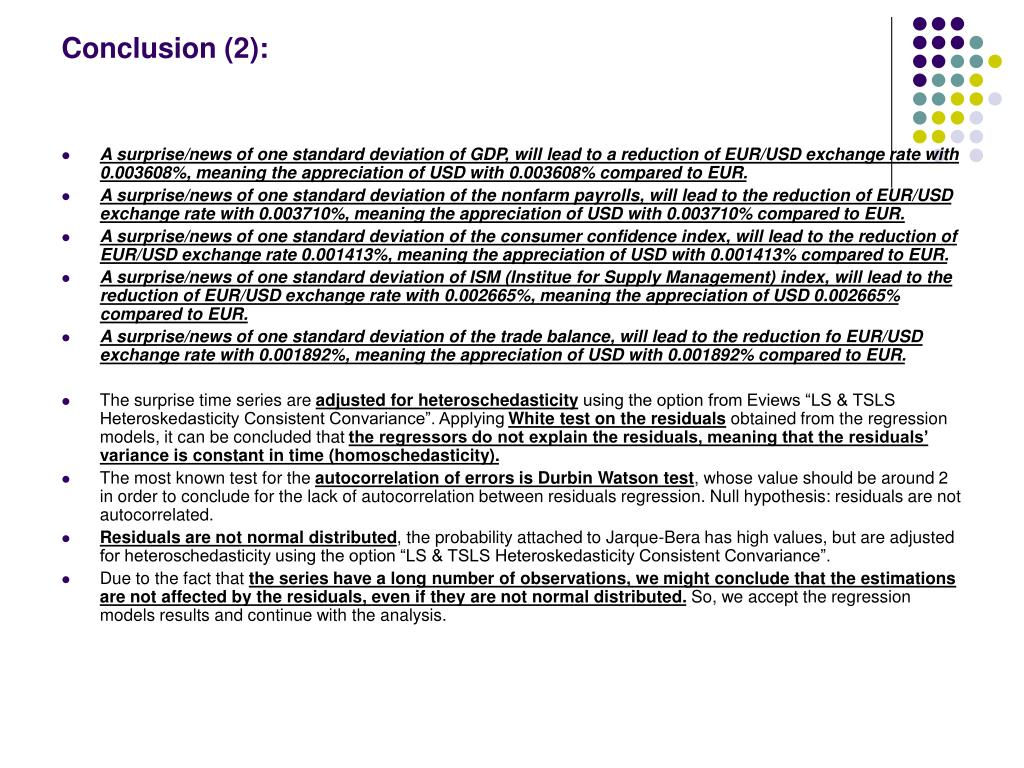Conclusion (2):
