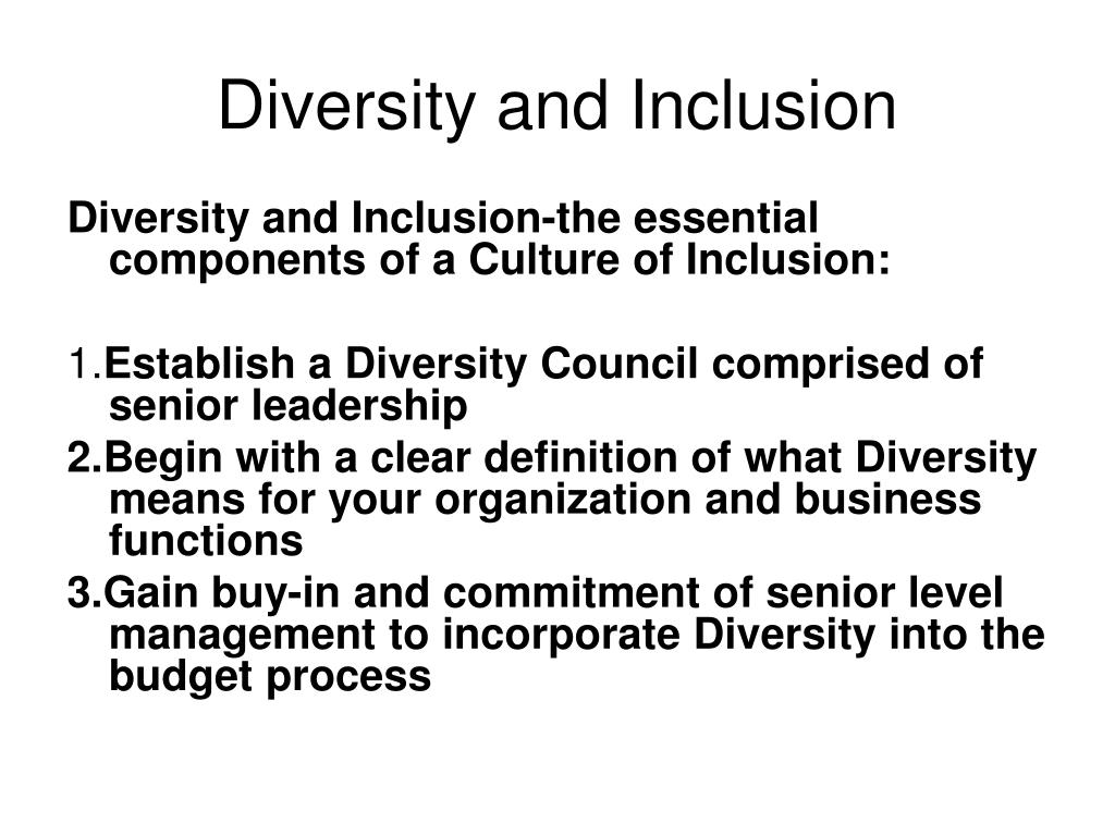 the three issues surrounding diversity and inclusion Diversity & inclusion diversity communications while we are aware the serious exploration of issues surrounding diversity and inclusion may three disability.