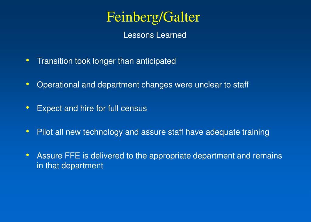 Feinberg/Galter