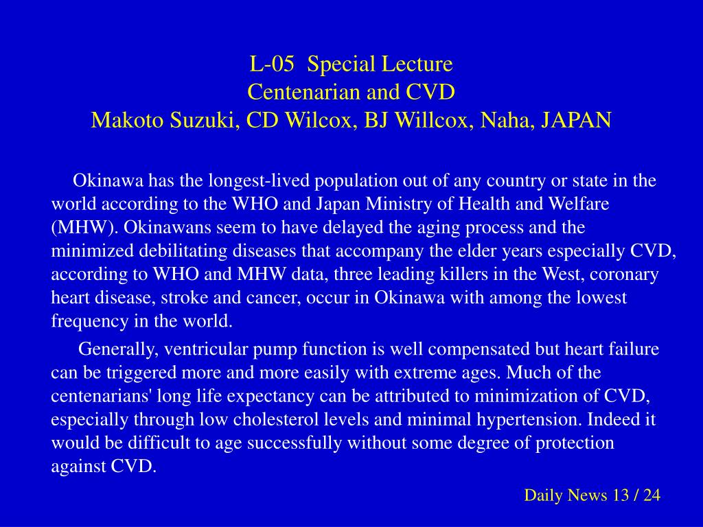 L-05  Special Lecture