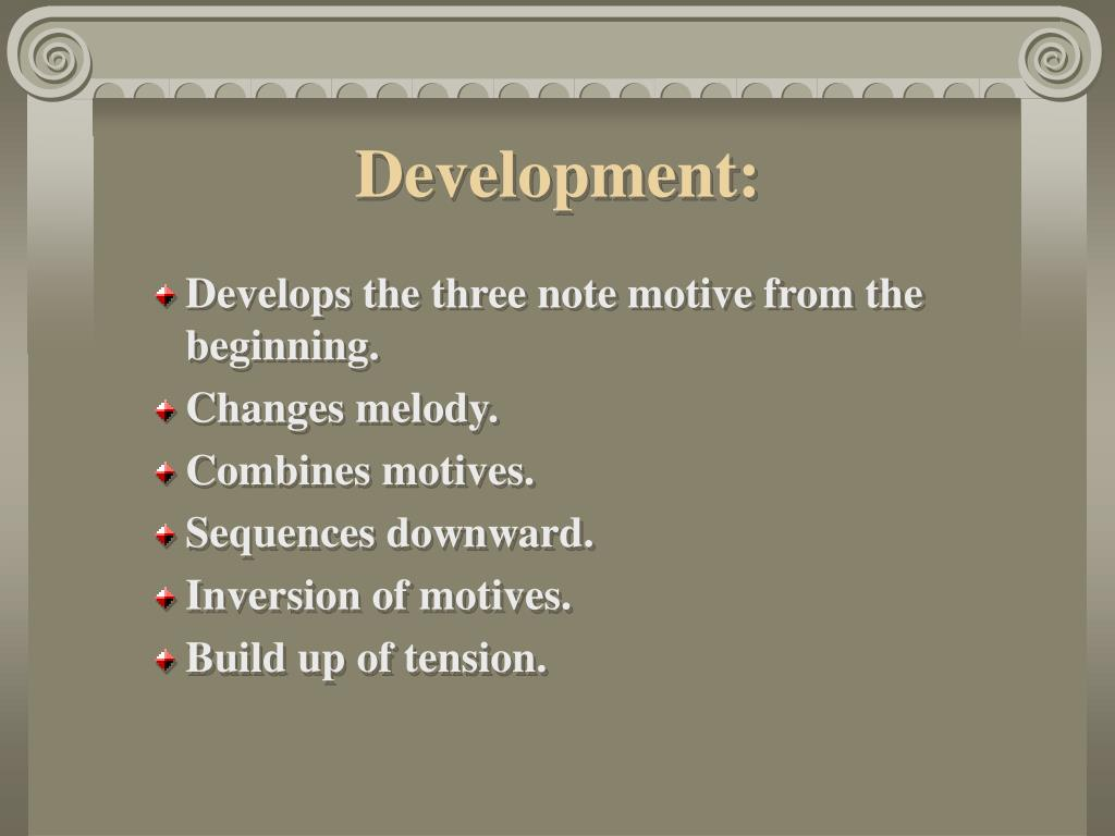Development:
