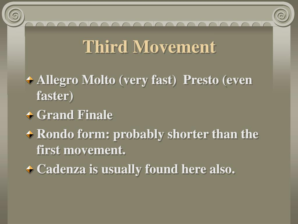 Third Movement