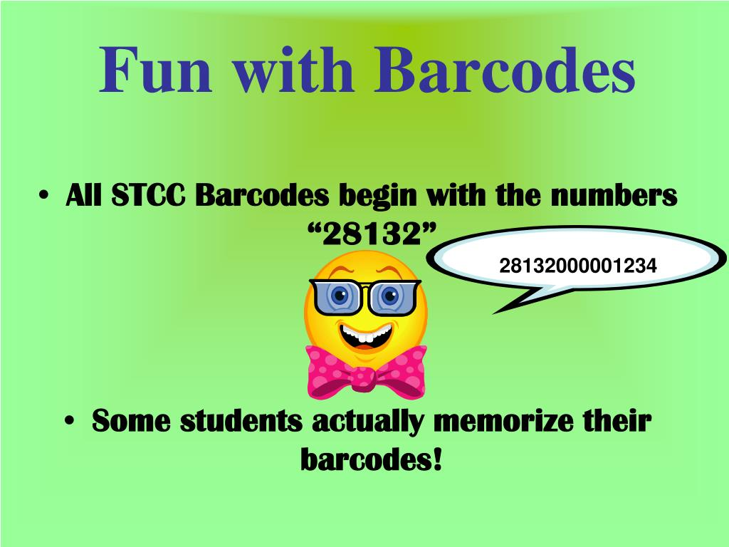 Fun with Barcodes