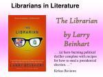 librarians in literature