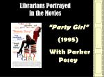librarians portrayed in the movies