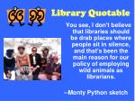 library quotable33
