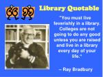 library quotable50