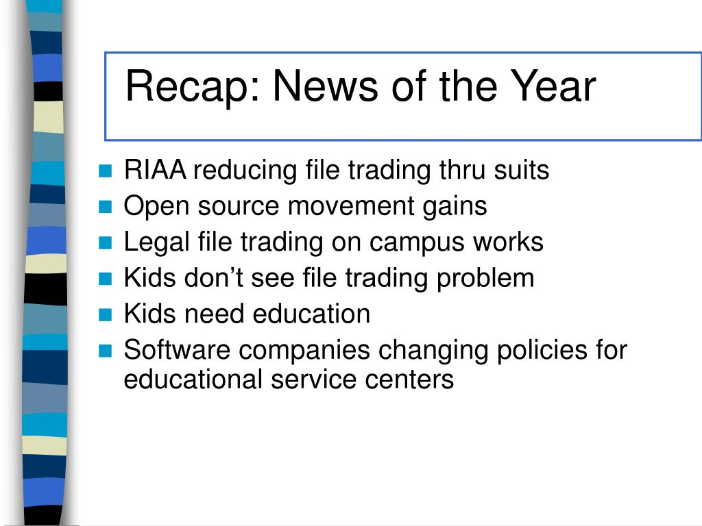 Recap: News of the Year