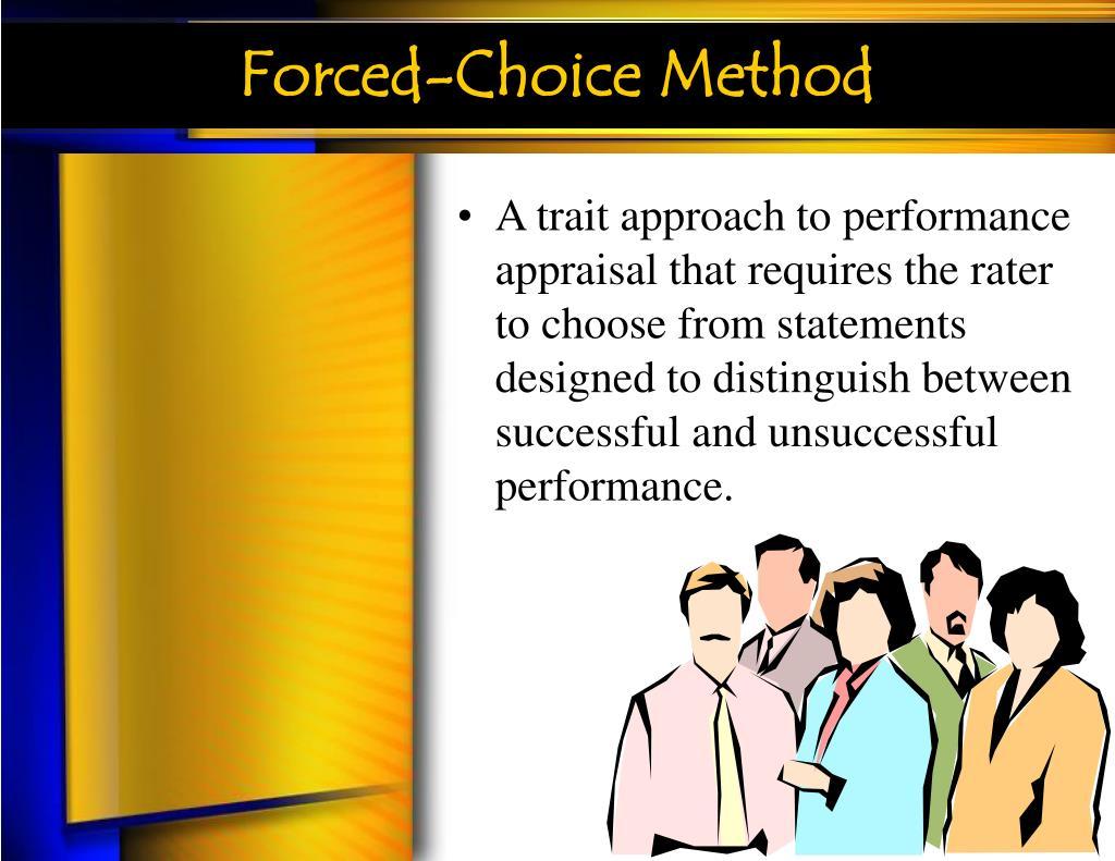 Forced-Choice Method