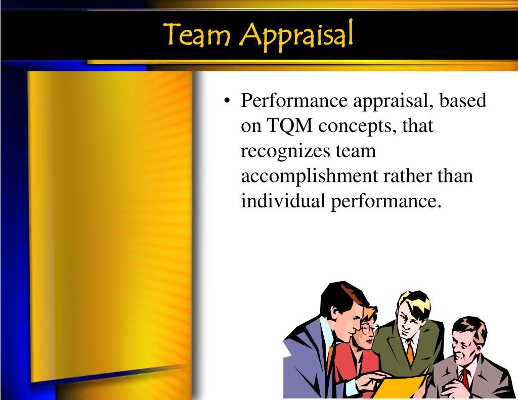 Team Appraisal