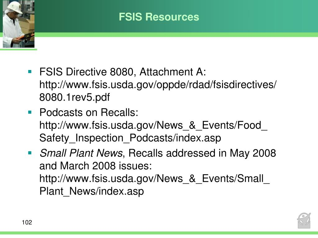 FSIS Resources