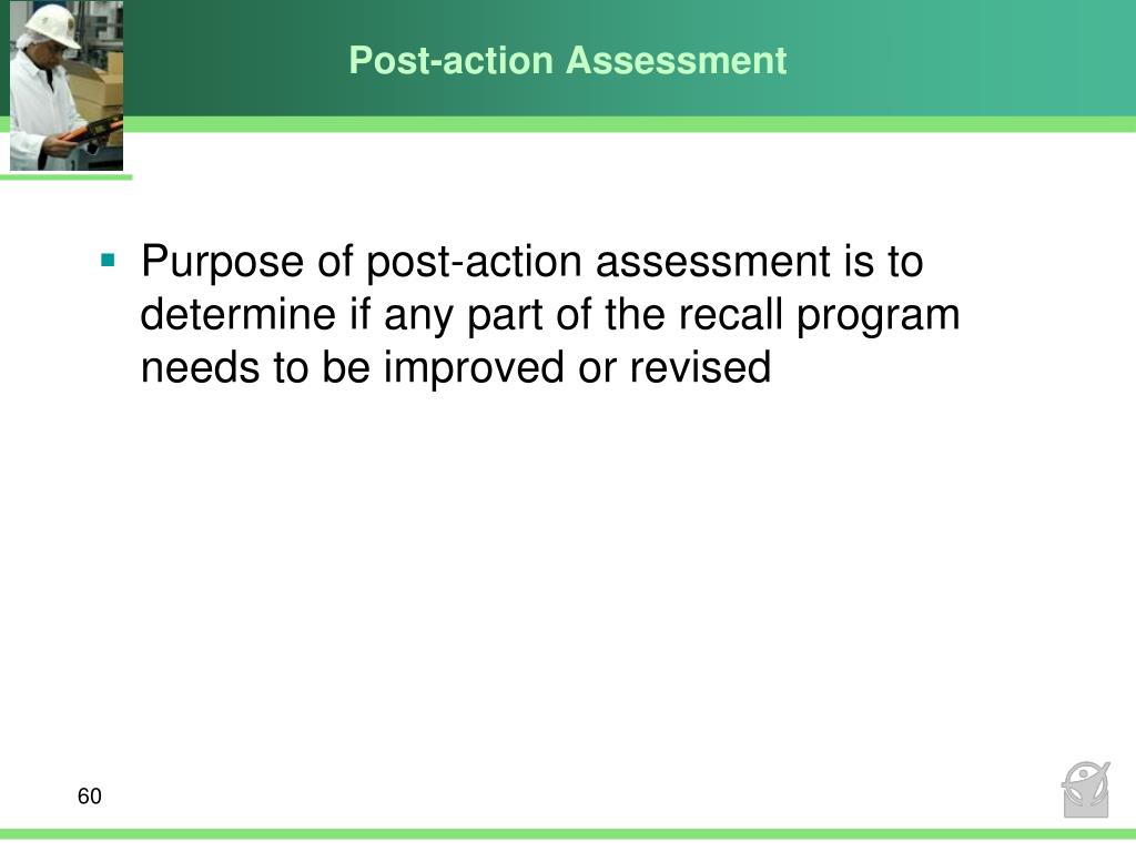 Post-action Assessment