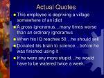actual quotes29