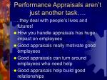 performance appraisals aren t just another task